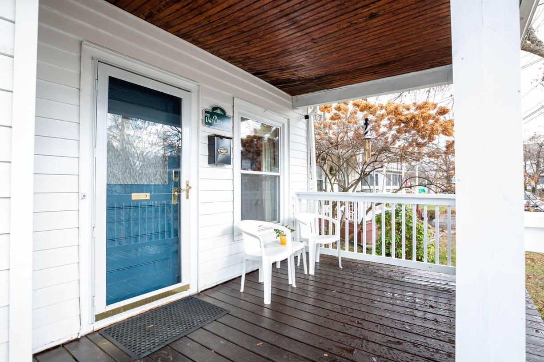 Beautiful Front Porch, enjoy a good book