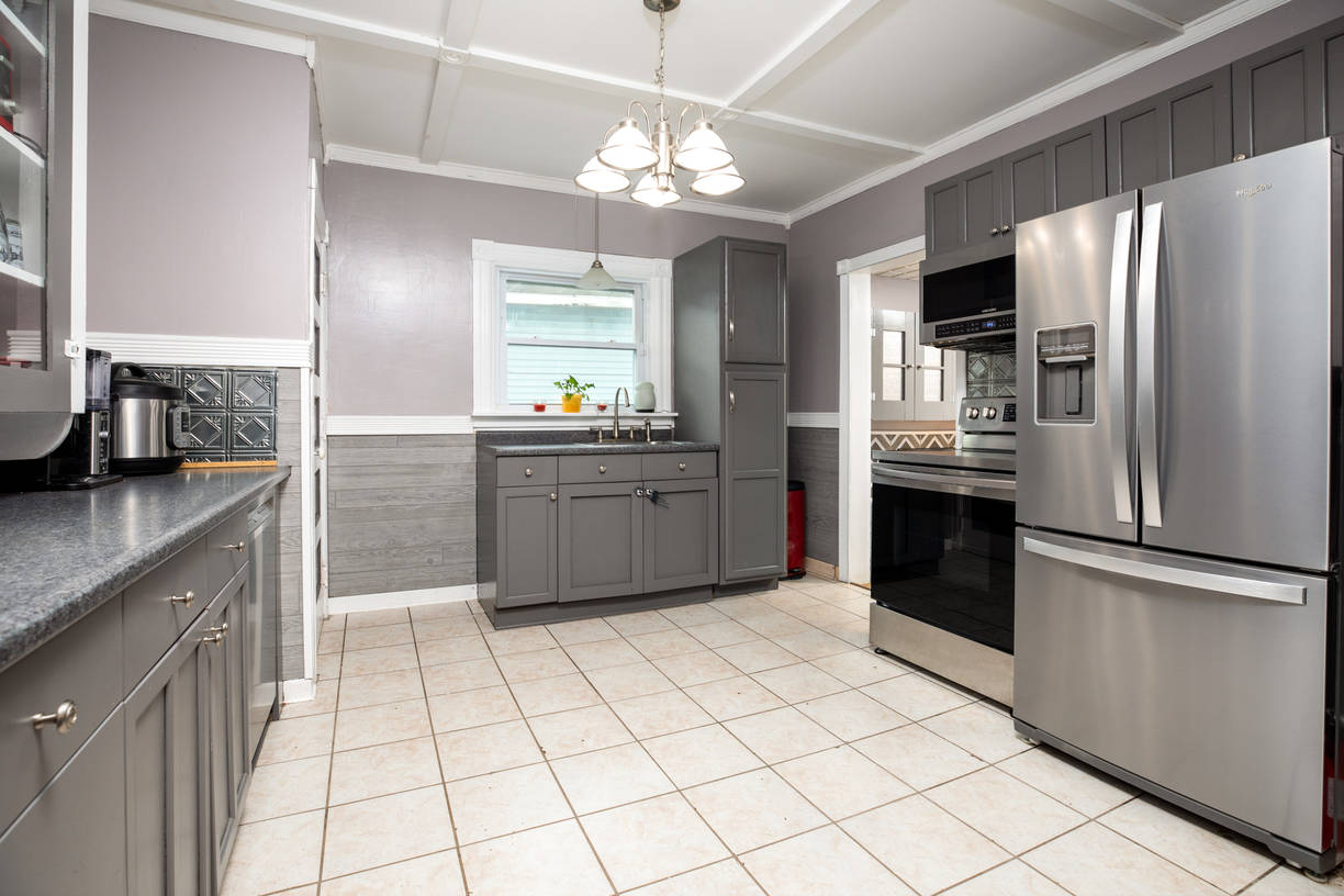 Updated Timeless Spacious Kitchen