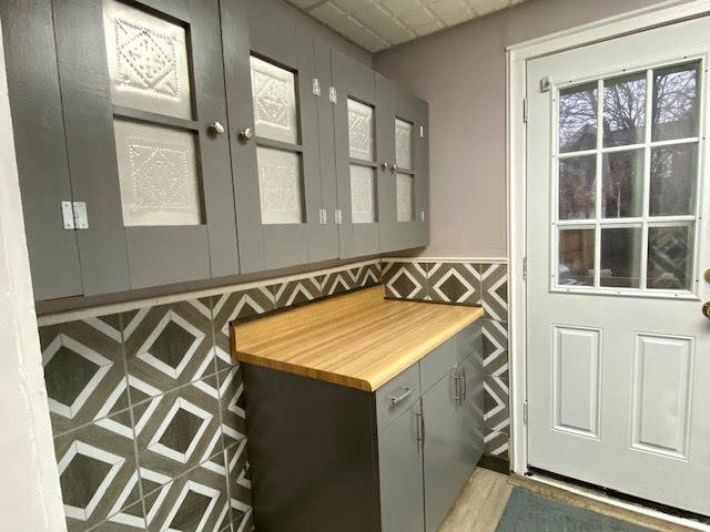 Cute Punched Tin Doors