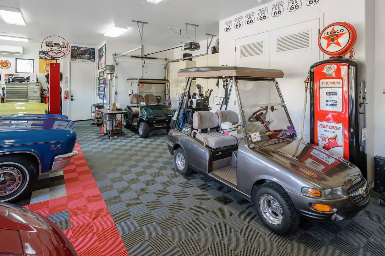 Golf Cart Garage